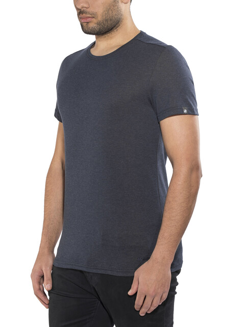 Mammut Crashiano T-Shirt Men marine melange-dark orange
